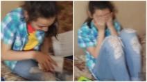 Il fratello le regala un iPhone ma lei scoppia in lacrime