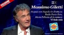 """Massimo Giletti: """"Napoli? Ho parlato solo di alcune zone indecorose"""""""