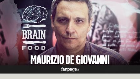 """Maurizio De Giovanni a BrainFood: """"Napoli? Una madre di cui ti vergogni ma non cambieresti"""""""