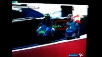 MotoGp, Barbera non stringe la mano a Rossi dopo il Gp di Valencia