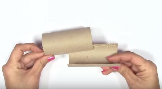 Incastra Due Rotoli Di Carta Igienica In Un Modo Preciso Guardate