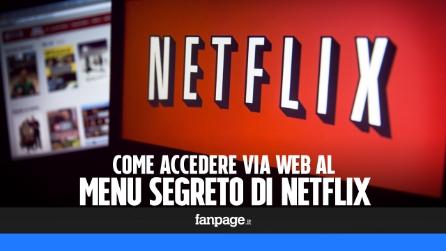Privacy su netflix accedere ed eliminare la cronologia for Menu segreto palazzetti