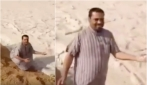Fiumi di grandine nel deserto: le apocalittiche immagini provenienti dall'Iraq