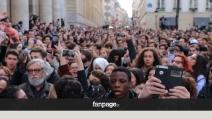 Strage di Parigi, il minuto di silenzio alla Sorbona