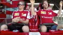 Ferrari World Abu Dhabi, Vettel e Raikkonen sulle montagne russe