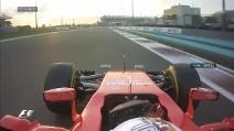 L'insolito team radio di Vettel: auguri al suo ingegnere