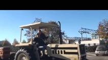 5 65° giornata del ringraziamento di Brembate sopra del 2015 sfilata trattori 5° video