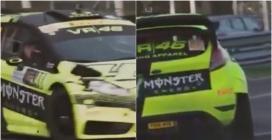 Monza Rally Show, il video della seconda giornata postato da Rossi