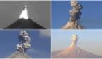 """4 eruzioni in un giorno: lo """"spaventoso spettacolo"""" del vulcano Colima in Messico"""