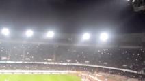 Napoli-Inter, il boato al San Paolo al goal di Higuain