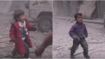 """Siria, bombardamento colpisce una scuola: i bimbi urlano """"mamma"""" subito dopo lo scoppio"""