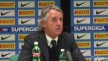 """Inter da primato, Mancini vuole di più: """"Sbagliamo troppi gol"""""""