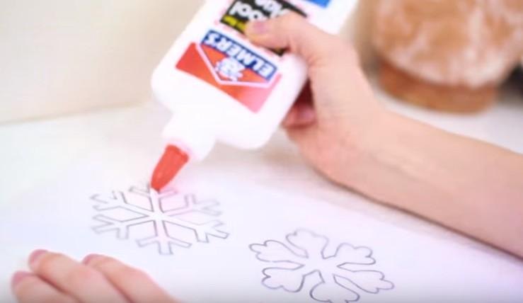 Fiocchi Di Neve Di Carta Tutorial : Fiocchi di carta. una manciata di cristalli di ghiaccio di carta