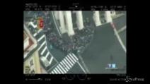 Giubileo, l'elicottero della Polizia riprende la folla di Piazza San Pietro