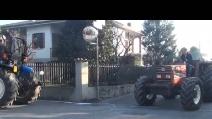 5 Giornata dell' agricoltura di Treviolo del 8 12 2015 sfilata trattori 5° video