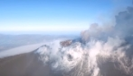 Etna, l'eruzione vista dal drone