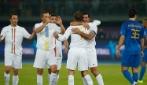 Figo, classe senza età. Super gol in Kuwait
