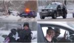 Poliziotto ferma gli automobilisti: poco dopo per loro una grande sorpresa
