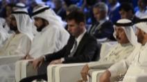 Da Pirlo a Messi, le stelle del calcio a Dubai