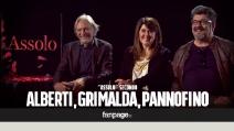 """Pannofino, Grimalda e Alberti: """"Con 'Assolo' siamo felici anche fuori dal coro"""""""