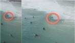 Ecco come si attraversa un tunnel d'acqua fino alla fine: cavalca l'onda!