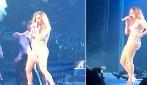 Jennifer Lopez in forma smagliante, 46 anni e uno show da paura per i fan di Las Vegas