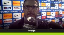 """Di Francesco: """"Grande prestazione del Sassuolo"""""""