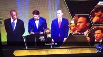 Leo Messi vince il Pallone d'Oro 2015: le reazione di Neymar e CR7