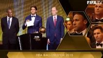 Pallone d'Oro 2015, vince Leo Messi: ecco la proclamazione