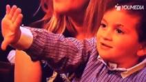 Messi vince il Pallone d'Oro: ecco come festeggia il piccolo Thiago