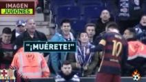 I tifosi dell'Espanyol insultano e minacciano Leo Messi