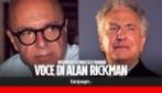 """Vairano, voce di Alan Rickman: """"La sua morte mi ha colpito, con Piton è stato straordinario"""""""