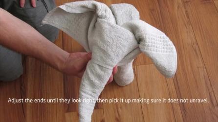 Piegare Gli Asciugamani A Forma Di Animale : Come piegare gli asciugamani a forma di animale: come fare la