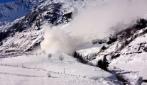 Spaventosa valanga ripresa sulle Alpi italiane