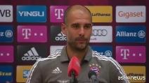 """Guardiola conferma: """"Lascio il Bayern a fine stagione"""""""