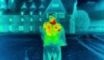 A torso nudo in pieno inverno con telecamera termica: ecco come il freddo può ucciderti