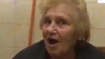 La nonna tifosa del Napoli urla il nome di Gonzalo Higuain