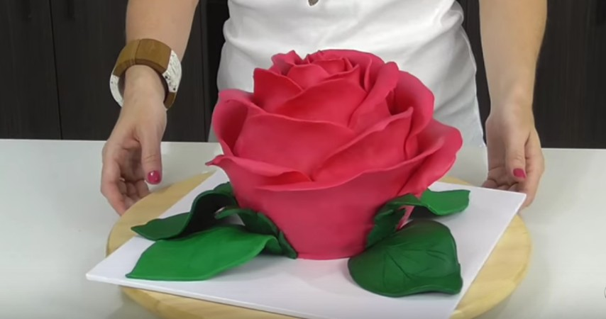 Torta Effetto Trapunta Tutorial.Come Realizzare Una Magnifica Torta A Forma Di Rosa