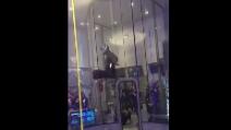 Il futuro della danza? Un ballerino speciale entra nella galleria del vento