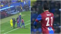 Debutto di Rossi con la maglia del Levante: è un'ovazione per Pepito