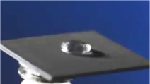 Creato il primo metallo che respinge l'acqua, la tecnica utilizzata è rivoluzionaria