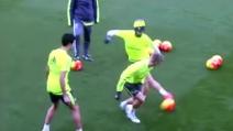 """Real Madrid, il fantastico """"colpo magico"""" di Isco in allenamento"""