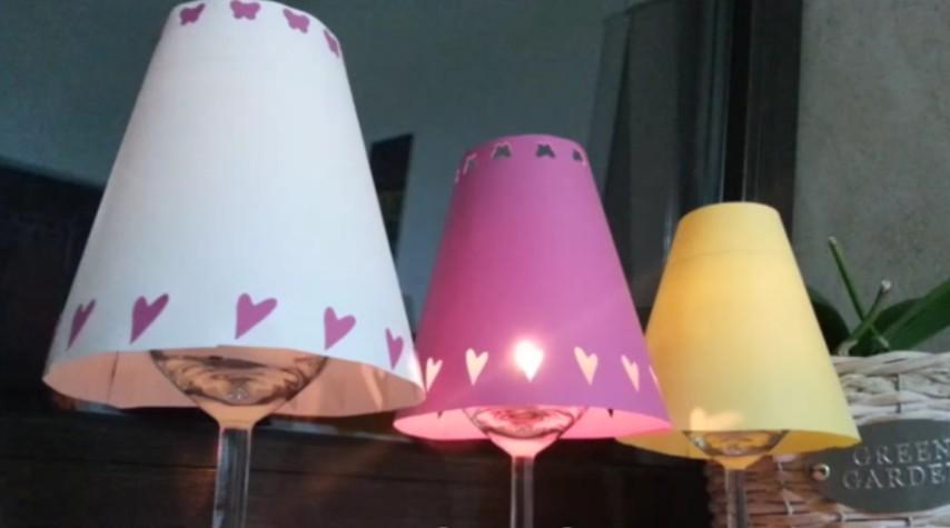 Lampada Con Barattolo Di Vetro : Portacandela con riciclo vasetti di yogurt i love riciclo