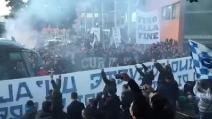 Juventus-Napoli, delirio a Capodichino: l'aeroporto sembra uno stadio