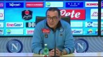 """Juve-Napoli, Sarri: """"Non firmo per il pari"""""""