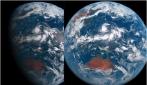 Un giorno sul pianeta Terra, l'alternanza del giorno e della notte vista dallo spazio