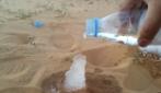 Ghiaccio sulla sabbia del deserto? Una reazione chimica davvero affascinante