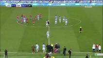 Lazio-Napoli, gara sospesa per insulti razzisti a Koulibaly