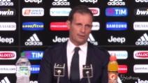 """Allegri: """"L'offerta del Chelsea? Sto bene alla Juventus"""""""