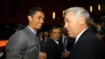 Cristiano Ronaldo e Ancelotti si incontrano: tra loro un affettuoso abbraccio